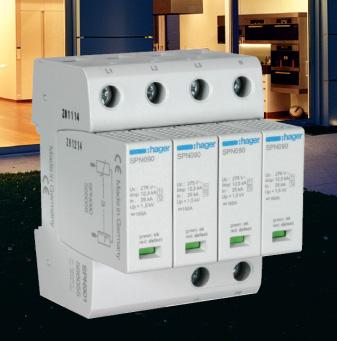 Защитите от последствий грозы ваши электрические приборы новым поколением разрядников Hager