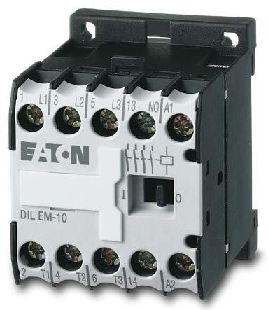 новый контактор DILEM-12 в коллекции Eaton