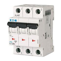 Автоматические выключатели EATON серии PL4