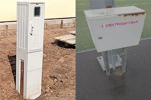 Электрические шкафы учета от Emiter