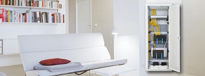 Дизайн слаботочных щитов серии Volta схож с дизайном популярных распределительных щитов серии Volta