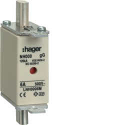 NH-плавкие вставки, с двойной сигнализацией, 500 V~