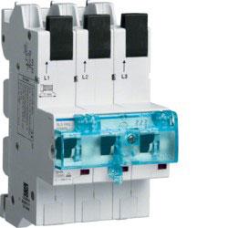 SLS-переключатель Quick Connect для установки на ДИН-рейку, E-характеристика