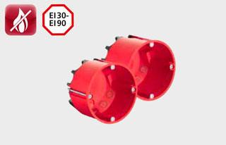 Противопожарная электромонтажная защита для конструкций с гипсокартоном и аналогичными материалами
