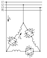 Соединение в треугольник